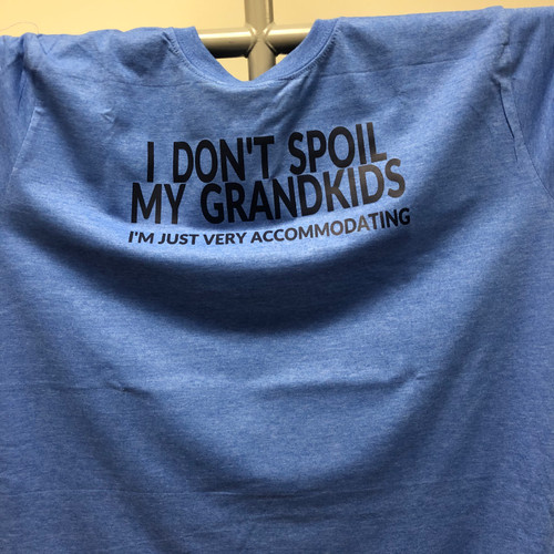 I Don't Spoil my Grand kids I'm just very accommodating