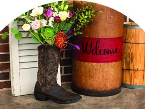 Boot of Flowers Slider
