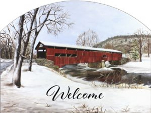 Covered Bridge Winter Slider
