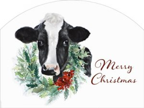 Cow Wreath Merry Cmas Slider
