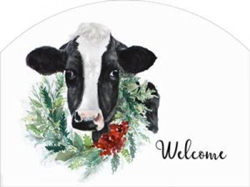 Cow Wreath Welcome Slider