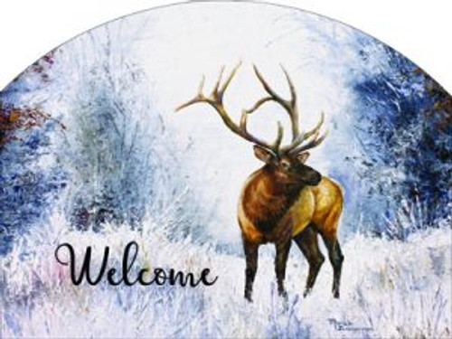 Elk in Snow Slider