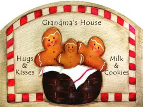 Gingerbread Basket Slider