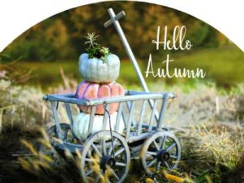 Goat Cart Hello Autumn Slider
