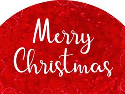 Merry Christmas (Red) Slider