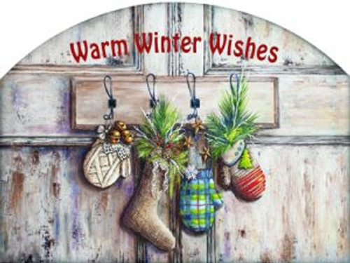 Mittens and Stockings Warm Winter Wishes Slider