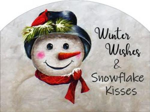 Mr Snowman Winter Wishes Snowflake Kisses Slider