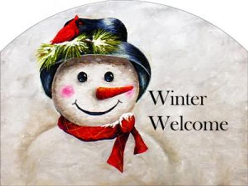 Mr Snowman Winter Welcome Slider