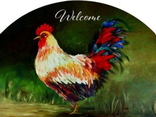 Olive Rooster Slider