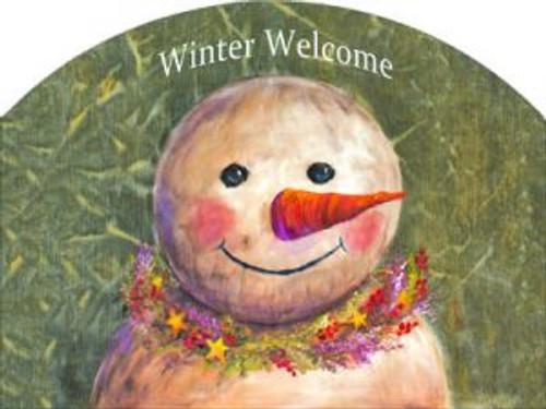 Primitive Snowman Slider