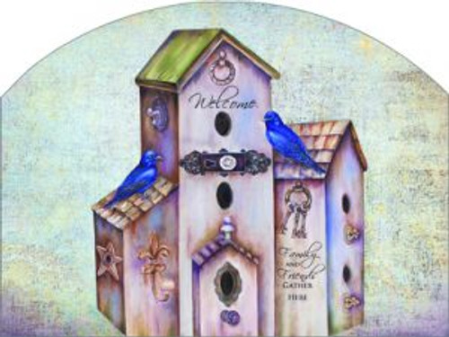 Purple Martin Birdhouse Slider