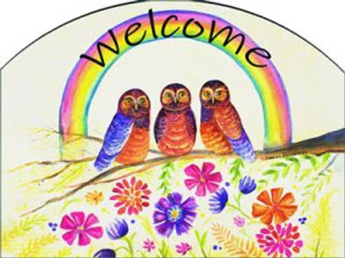 Rainbow Owls Slider