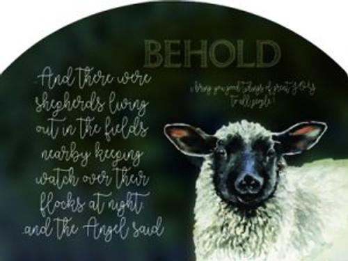 Sheep Black Faced Behold Shepherds Slider