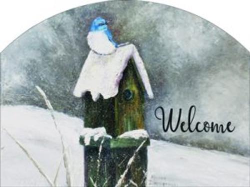 Snow Bluebird Slider