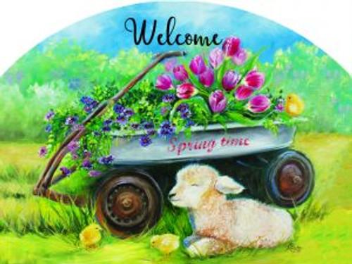 Spring Wagon Slider