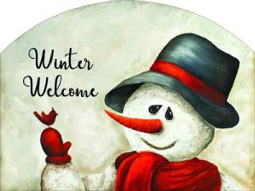 Waving Snowman Slider