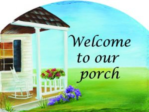 Welcome to Our Porch Slider