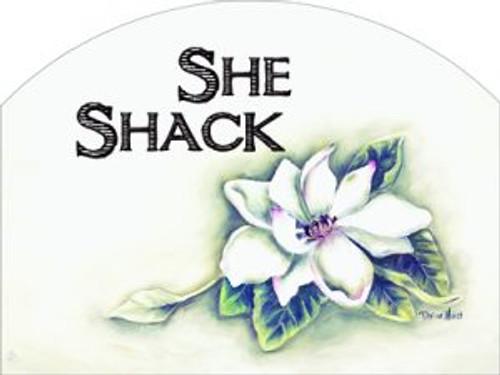 White Magnolia She Shack Slider
