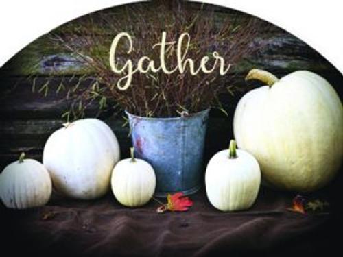 White Pumpkins Gather Slider