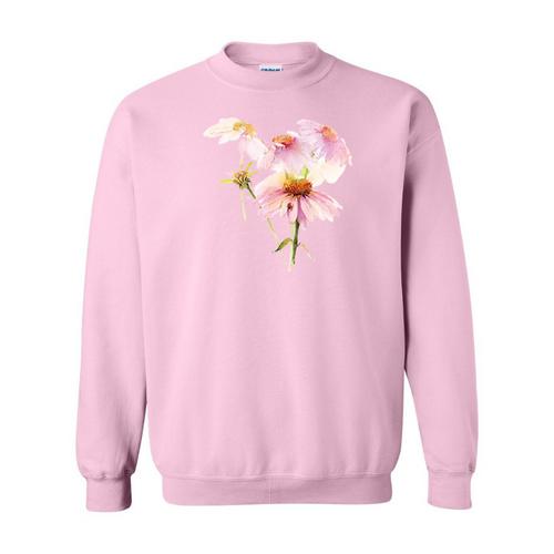Echinacea & Ladybug Sweatshirt