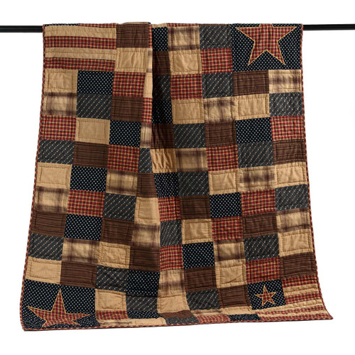 Patriotic Patch Throw 60x50