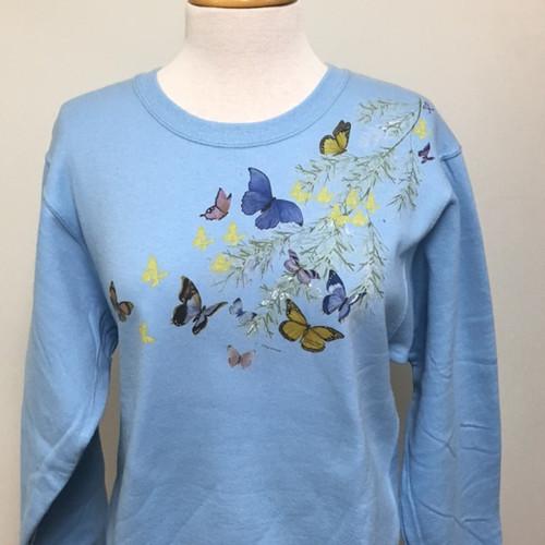 Butterfly Shoulder Sweatshirt