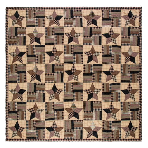 Bingham Star Queen Quilt 94x94