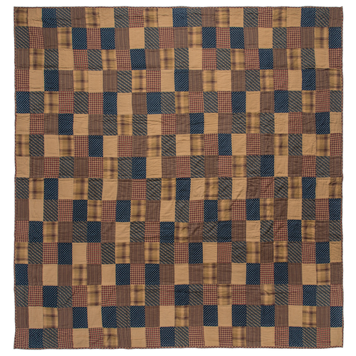 Patriotic Patch Luxury King Quilt 105x120