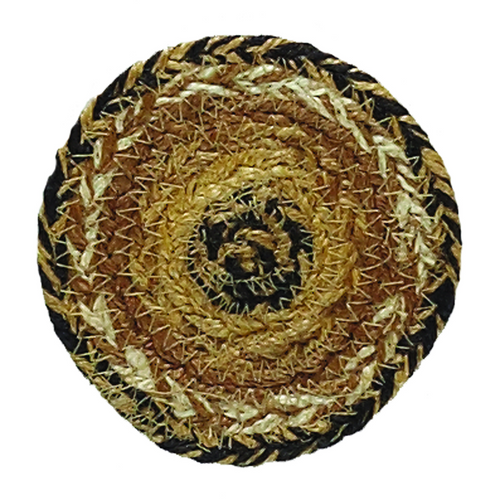 Kettle Grove Jute Coaster Set of 6