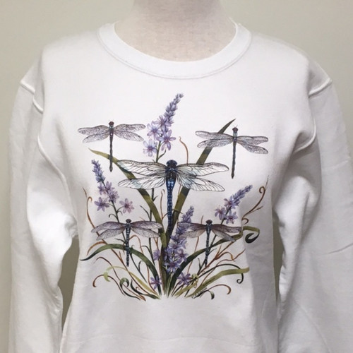 Dragonfly Lace Sweatshirt