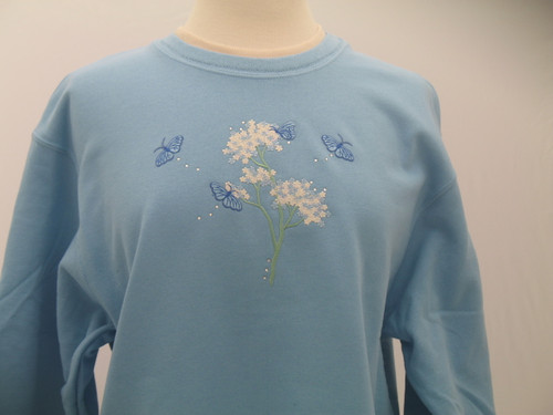 Sparkle Blue Sweatshirt
