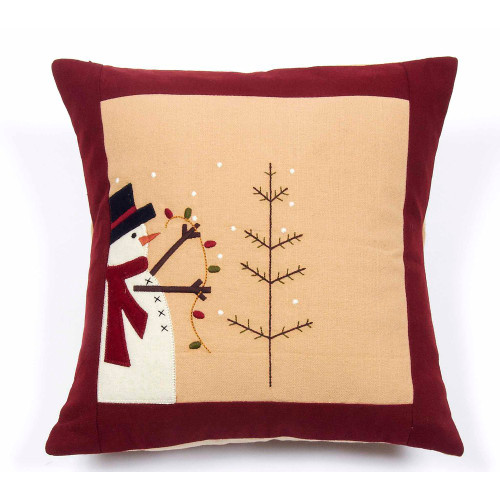 "Trim a Tree 14""x14:"" Barn Red - Nutmeg"