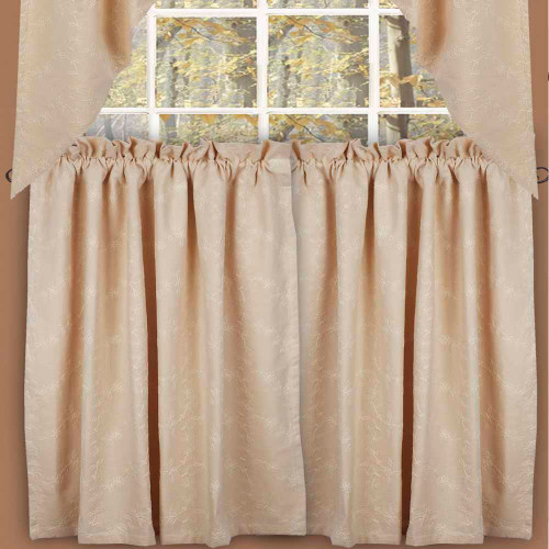 "Candlewicking 72"" x 36"" (2 pcs) Cream"