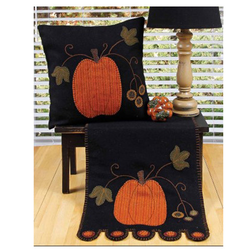 "Pumpkin 14"" x 36"" Black"