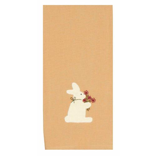 "Bunny Bouquet 18"" x 28"" Nutmeg"
