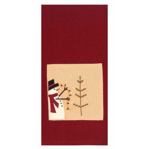 """Trim a Tree 18"""" x 28"""" Barn Red - Nutmeg"""