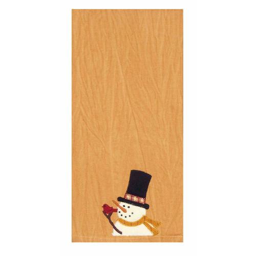"""Snowman Sam 18"""" x 28"""" Tea Dyed"""