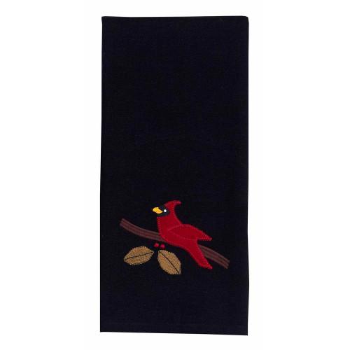 "Cardinal Christmas 18"" x 28"" Black"