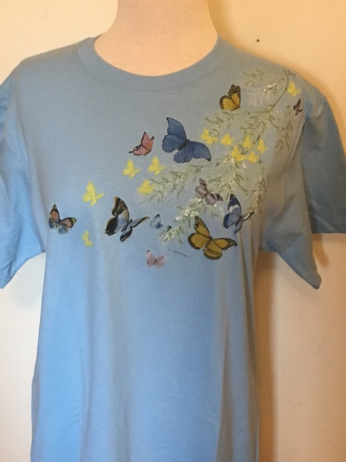 Butterfly Shoulder T-Shirt