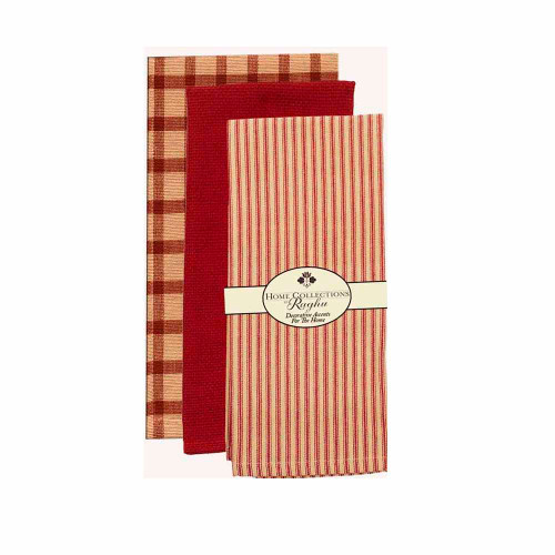 "Towel Pack  18"" x 28"" Barn Red"