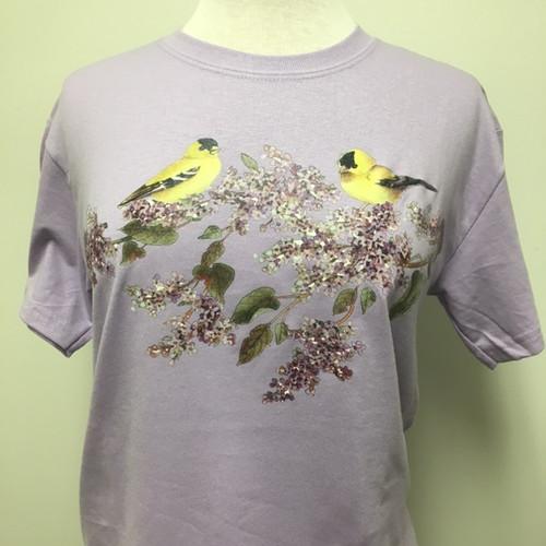 Lilac Goldfinch T-Shirt