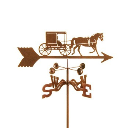 Horse & Buggy Weathervane