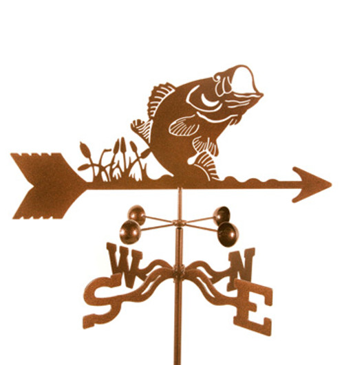 Fish- Bass Weathervane