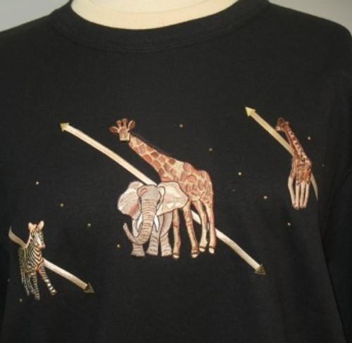 Jungle Sweatshirt (Black)
