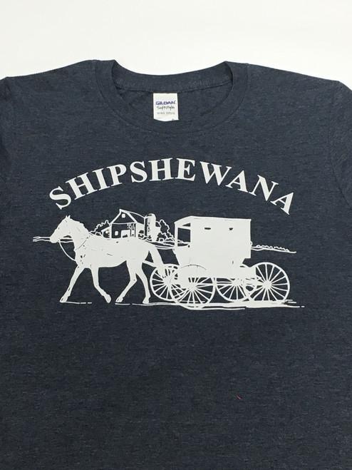 Shipshewana Logo Navy