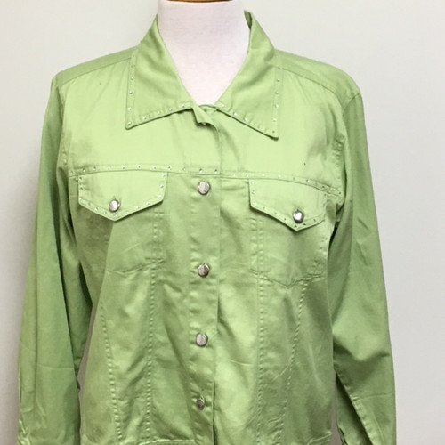 Just My Style Jacket  - Frosted Lime
