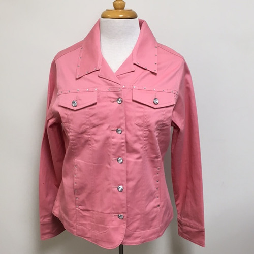 Just My Style Jacket  - Lt Rose