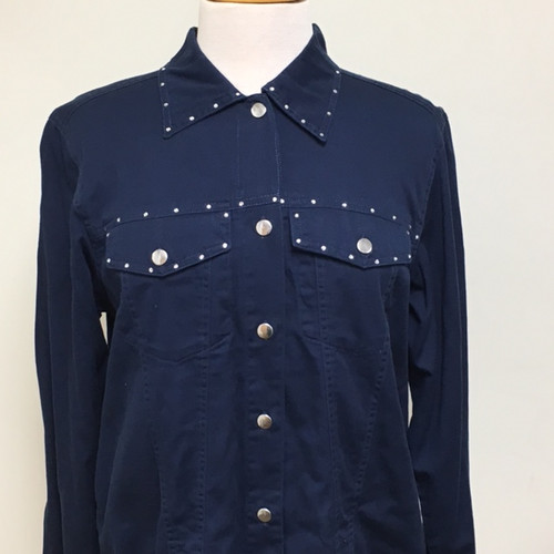 Just My Style Jacket  - Navy
