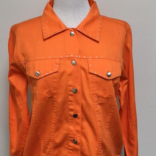 Just My Style Jacket  - Orange