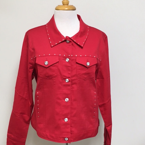 Just My Style Jacket  - Red